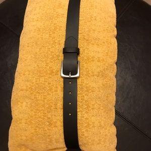GAP Black Leather Belt (Men's Size 38)